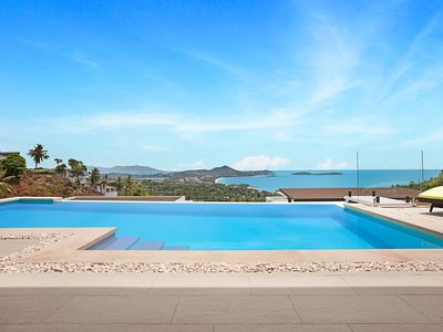 Photo for 3 Bedroom Pool Villa With Seaview