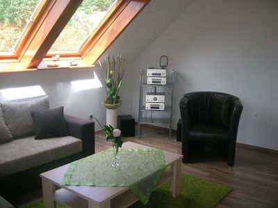 Photo for Apartment 60sqm, 1 bedroom, 1 comb. Living and sleeping area - Hinehof
