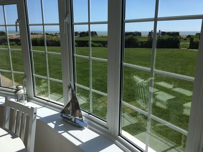 Photo for Stunning Beachfront Apartment on Ferring beach