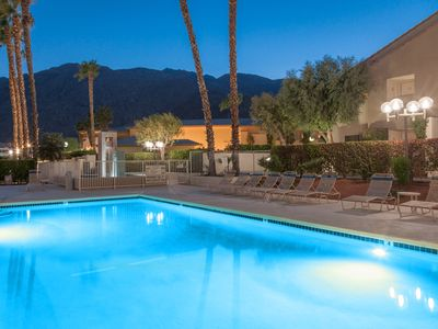 Photo for Downtown Winner at Plaza Villas - Walk to Coachella Shuttles!