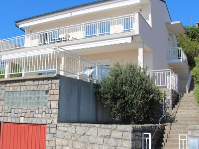 Photo for Beautiful apartment in villa for 6 guests with WIFI, A/C, panoramic view and parking