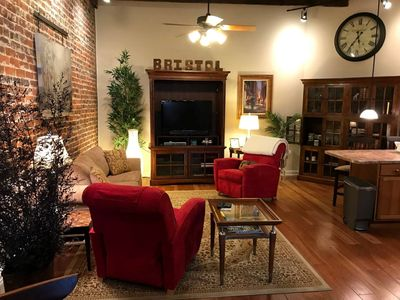 Photo for Live like a Local Loft - Unique Downtown Experience, Cool Vibe - Bristol VA/TN
