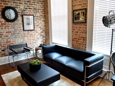 Photo for Investigative reporting themed, Historic luxury condo, 2 blocks from French Quarter