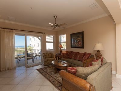 Photo for Cinnamon Beach End Unit - 345 !! Over 2100 sf with Ocean and Golf Views !