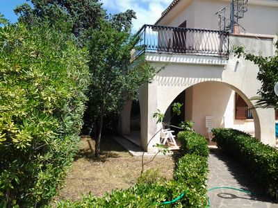 Photo for Villa on two levels large garden and parking space about 350 meters from the sea