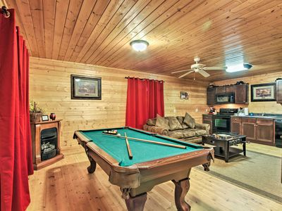 Photo for NEW! Sevierville Cabin w/ Hot Tub & Pool Table!