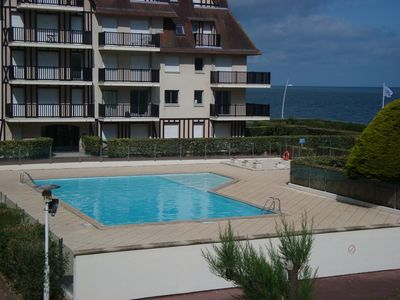 Photo for Sea Front Residence - garden - heated swimming pool