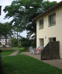 Photo for Sunny house, private terrace, bright u. Comfortably furnished. Large garden.
