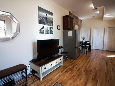 Photo for Close to NYC. Newly renovated entire 2-bedroom with free parking