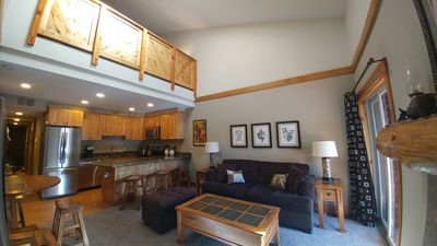 Photo for Renovated 2BR/1Ba; covered parking; WiFi; Hot tub; close to ski resorts