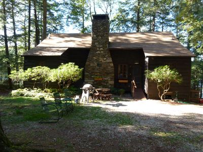 Front of cottage- Fall 2017