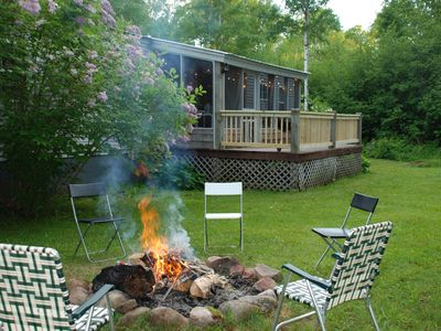 Photo for 4 Bed 2 Bath Wooded Escape. 10 minutes to the beach!