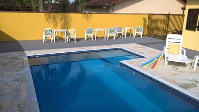 Photo for Condomínio Portal Patrimonio - House with pool, barbecue and security 24 hs.