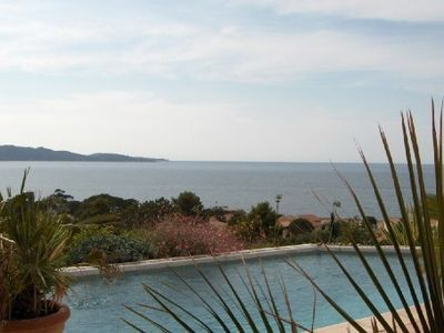 Photo for Modern villa, private pool (panoramic), 300m beach walk