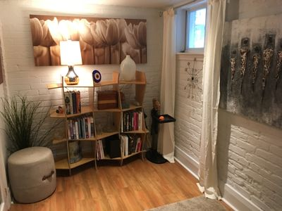 Photo for Cozy basement in the heart of the beach, steps away from the beach