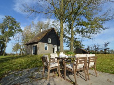 Photo for Picturesque, fully detached home surrounded by water and near De Biesbosch