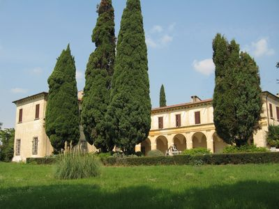 Apartment for rent in historical villa in Northern Italy