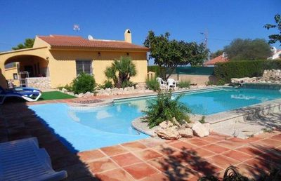 Photo for detached villa with private pool!