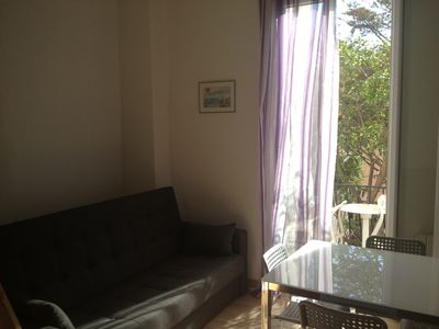 Photo for Nice studio with mezzanine and private garden
