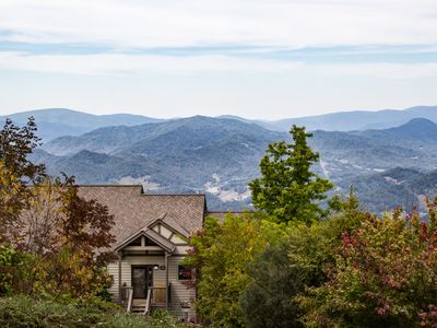 Photo for Mountain Air ~ Burnsville, NC - A Mountain Top Villa With Spectacular Views