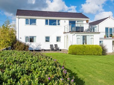 Photo for Spacious holiday home for six at the edge of the beach resort Abersoch