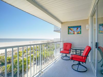 Photo for Ocean Song 333: 1 BR / 1 BA condo in Tybee Island, Sleeps 4