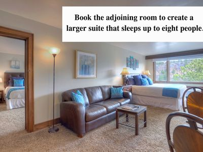 Photo for Two room condo suite at Tamarron Lodge Sleeps 8 People