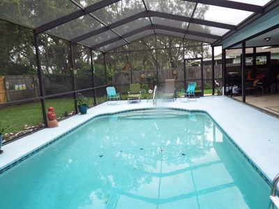Photo for TWO BEDROOM HEATED POOL HOME - FREE CABLE AND WI-FI