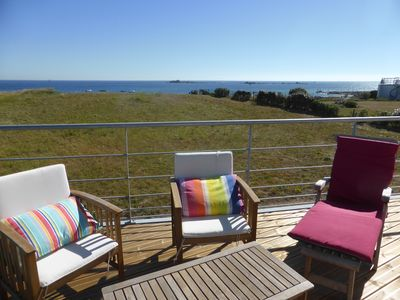 Photo for Magnificent Sea View - House rental feet in water - Loctudy Lesconil