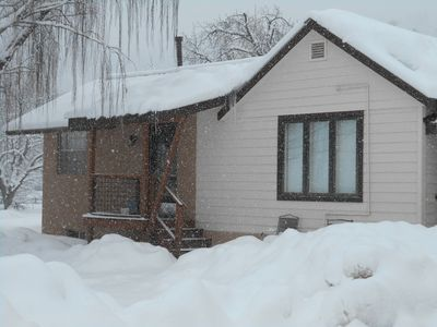 Photo for Lovely bungalow in rural setting close to skiing, hiking, and mountain biking