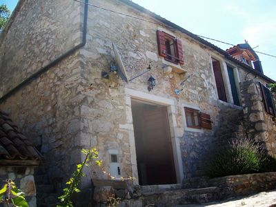Photo for Holiday house Tonka  - Cove Zarace (Milna), Island Hvar, Croatia