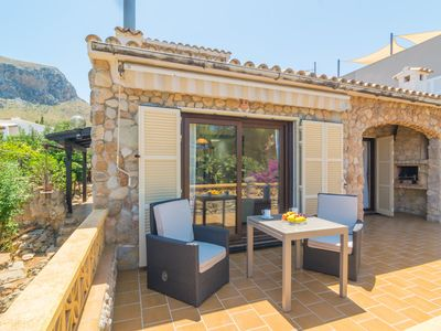 Photo for CAN CLAVELL - Chalet with terrace in Colònia de Sant Pere.