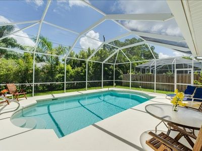 Photo for Coastal Beach Cottage with Heated Salt Water Pool ** ONLY $175 a night