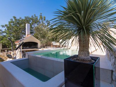 Photo for ctdm191 - Holiday house with a private pool on small island Drvenik Mali - Trogir, up to 11 persons, 4 bedrooms