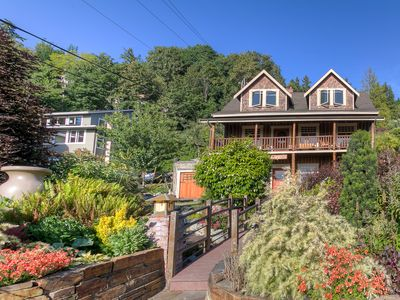 Photo for Historical Log Home Seaview Hall 1 block from Alki Beach in W Seattle