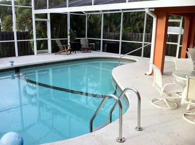 Pool area (electrical heatable)