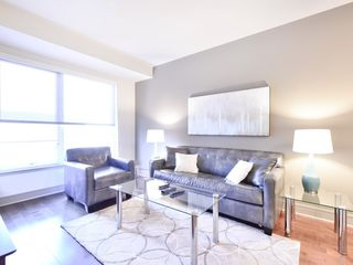 Ultra-Lux Boston 1BR Apt Fitnessraum