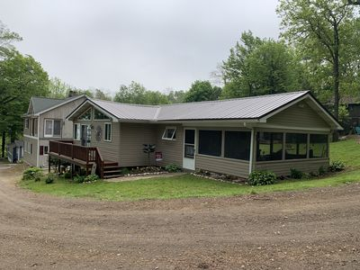Great cottage in North East, Pa. and it is almost steelhead fishing time!