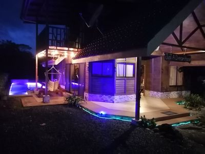 Photo for Beautiful new cozy house with Arenal volcano view at La Fortuna, San Carlos