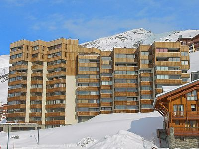 Photo for One bedroom Apartment, sleeps 2 in Val Thorens with WiFi