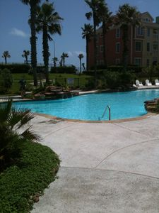 Photo for Spectacular Gulf and Lagoon Pool View, great reviews, adjustable King bed!