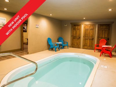 Photo for A Hilltop Hideaway a Theater, Private In Cabin Pool, Arcade and more!