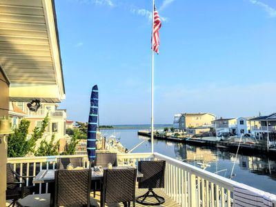 Amazing views and access right off the dock to the Barnegat Bay