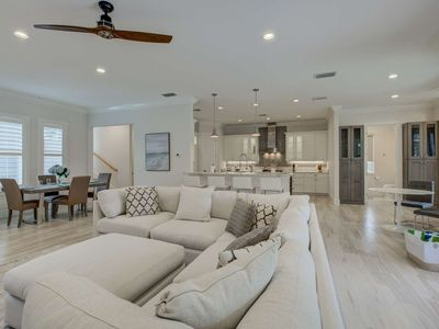 Photo for 600 ft. to Shell Beach,  Pool/Spa, Fire Pit, New & Custom Nantucket Style Home, 12ft Ceilings