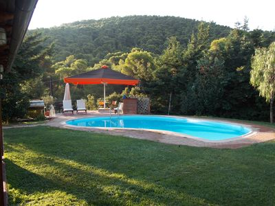 Photo for Private countryhouse with pool near Athens airport