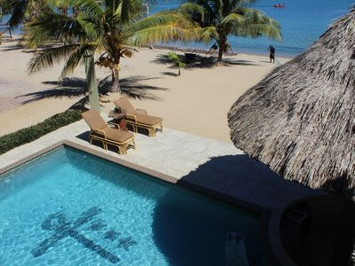 Photo for Beach Front Home - Hopkins, Belize