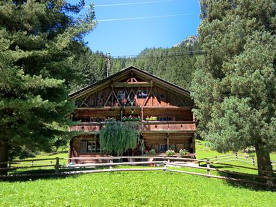 Photo for This 4-bedroom villa for up to 8 guests is located in Ginzling - Tyrol and has a private swimming po