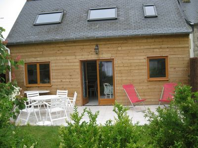 Photo for Quiet house 50 m from the beach close to shops