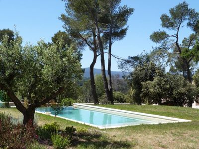 Photo for Near Aix en Provence, Bastide with exceptional panorama