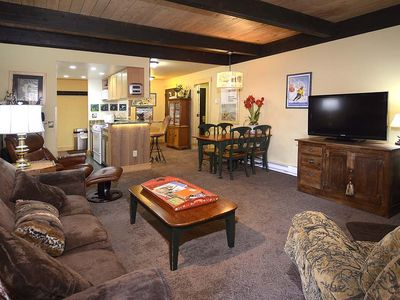 Photo for Updated Ski-In/Out Pet Friendly Condo w/ Fireplace; Cozy and Comfortable